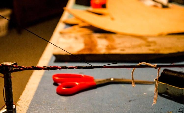 Bow-string-and-nail