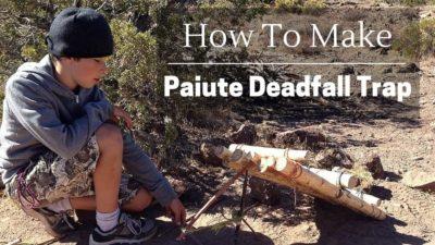 How to Make a Paiute Deadfall Trap