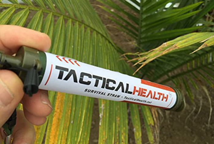 Tactical Health Survival Straw
