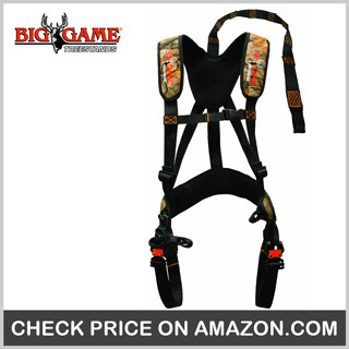 Big Game Ez-On Basic Safety Harness – Best Treestand Safety Harness