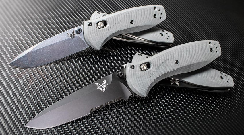 Benchmade 585SBK Mini Barrage Assisted Opening Knife