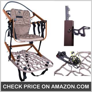 Lone Wolf Wide Sit & Climb Combo II - Best Climbing Tree Stand