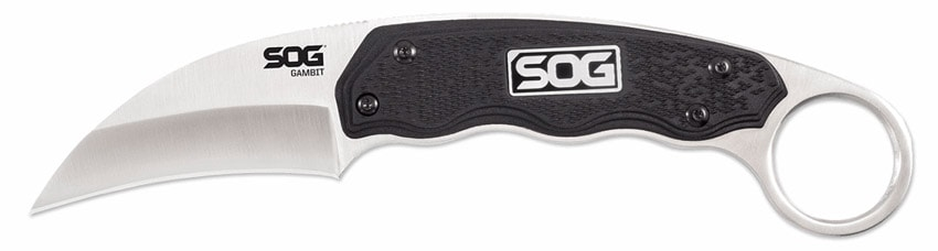 SOG GB1001-CP Gambit Fixed-Blade Knife with Sheath