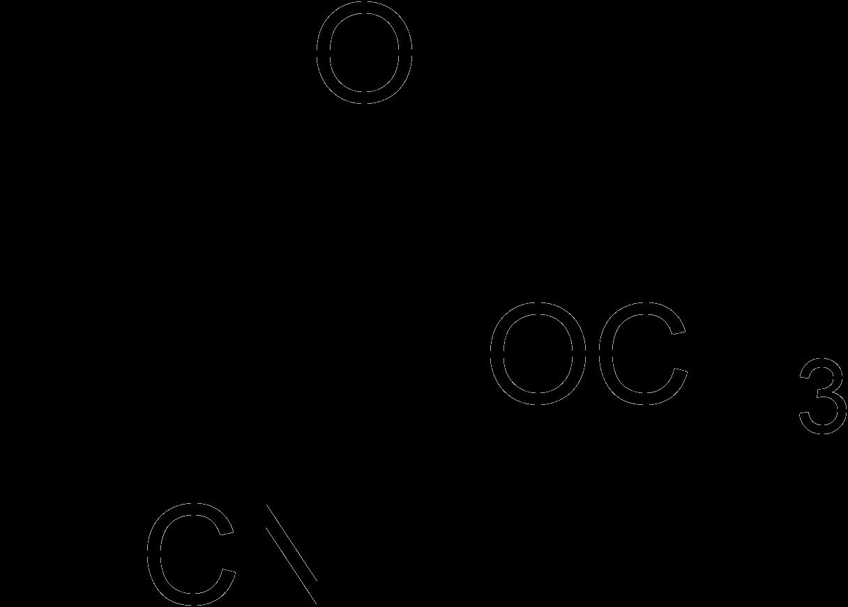 Cyanoacrylate structure
