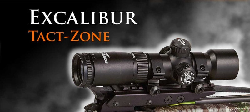 Excalibur Tact-Zone Illuminated Scope, 2.5-6x32mm