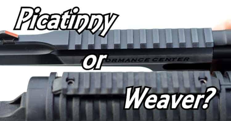 Picatinny-vs-Weaver-Rails