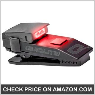 QuiqLiteX Hands Free Pocket Concealable Flashlight - Best Police Flashlight
