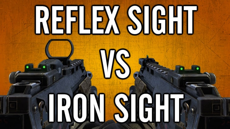 Reflex Sight vs Iron Sights