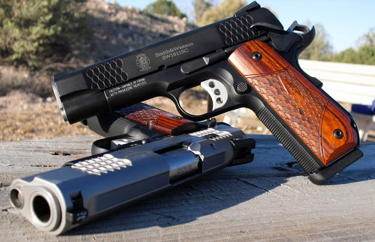 Smith & Wesson SW1911 Semi automatic Pistol