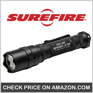 SureFire E2D Defender Ultra Dual-Output Flashlight - Best Police Flashlight