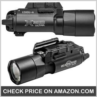 SureFire X300 Ultra LED WeaponLights - Best Police Flashlight