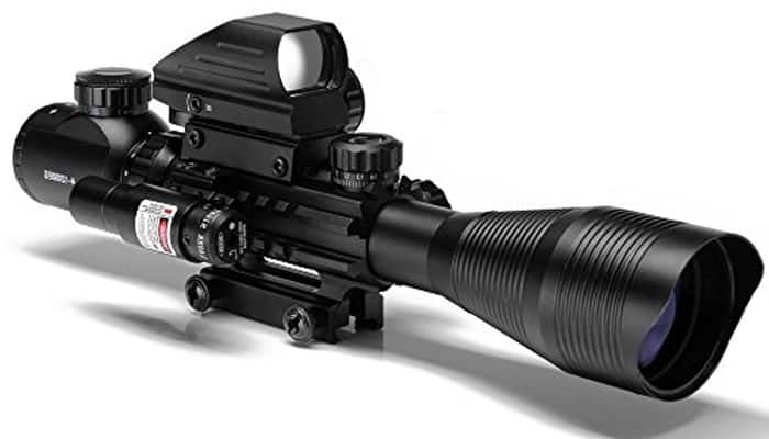 UUQ C4-12X50 AR15 Rifle Scope
