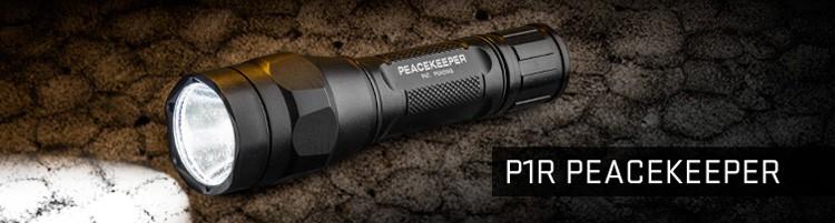 SureFire P1R Peacekeeper Ultra-High Output LED Flashlights