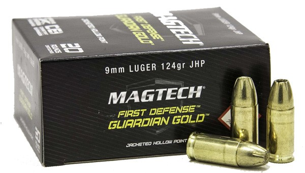 Magtech Guardian Gold 124 Grain JHP