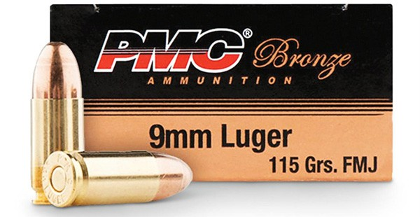 PMC 115 Grain 9mm
