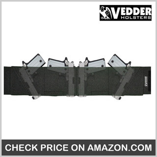Vedder 4-way Belly Band Gun Holster